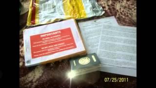Paquete DHL con Visa Aprobada