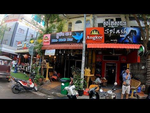 Phnom Penh Streets, Bars, Hotels & Restaurants 2020, Phnom Penh Cambodia