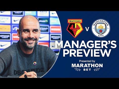 Pep Guardiola previews Watford v Man City | PRESS CONFERENCE
