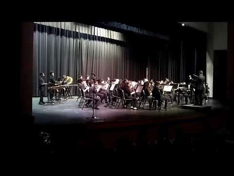 Summerour Middle School Symphonic Band 2017 Cluster concert