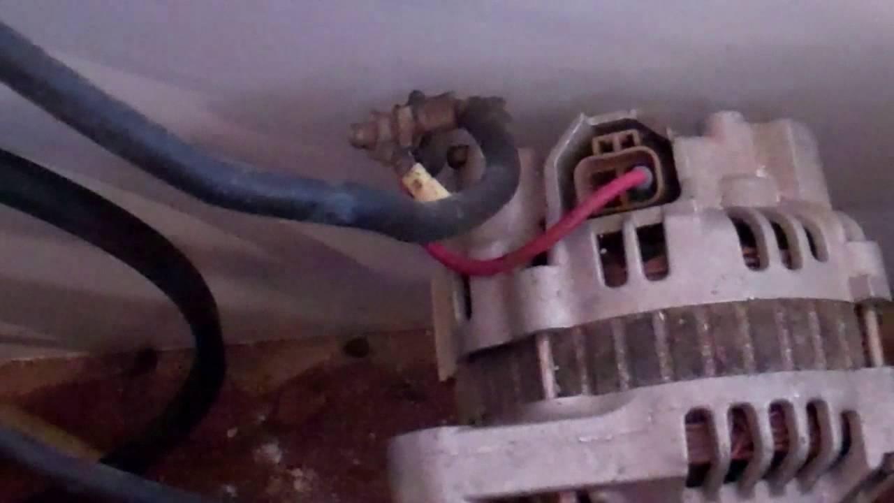 Basic Alternator Connections For A 12v Charging Set