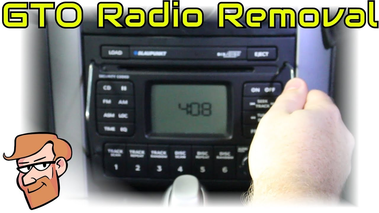 How to Remove a 2004-2006 GTO Radio (+Holden Monaro) • Cars Simplified  Quick Tips