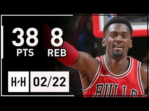 Bobby Portis Career-HIGH Highlights Bulls vs 76ers (2018.02.22) - 38 Points, 8 Reb off the Bench