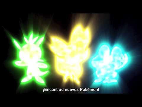 Primer trailer Pokémon X y Pokémon Y
