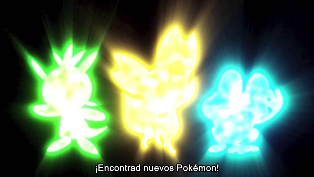 Primer trailer Pokémon X y Pokémon Y - YouTube