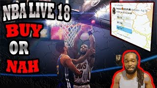 Is nba live 18 a buy or nah? | after a week+ of playing | the results are in