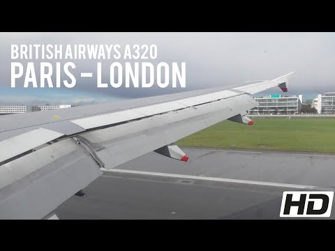 FULL FLIGHT | British Airways A320-200 | BA315 Charles de Ga