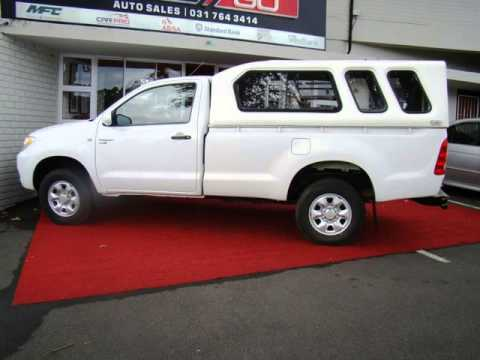 2008 TOYOTA HILUX 2.5 D4D R/B SRX S/CAB Auto For Sale On Auto Trader South Africa