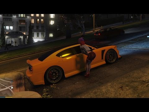 GTA 5 на PC - Секс с Проституткой