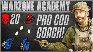 YOUR PERSONAL WARZONE COACH! Breaking Down HIGH KILL Warzone Gameplay - Warzone Academy COD Coaching