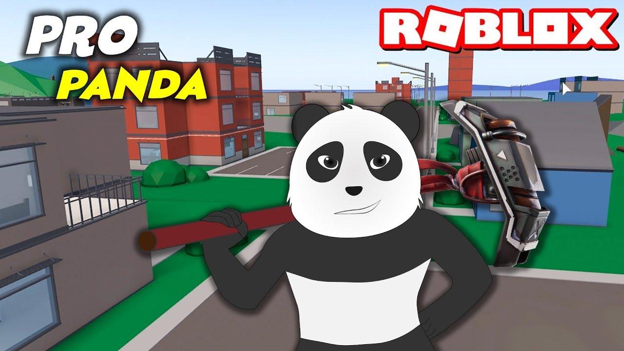 Panda Roblox'da Fortnite Oynuyor! Pro Panda Coştu ...