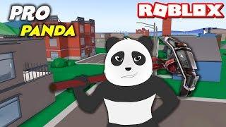 Panda Roblox'da Fortnite Oynuyor! Pro Panda Coştu - Strucid ROBLOX
