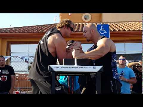 Matt Mask vs Chris Chandler (2) @ WAL Armwrestling Riverside 2016