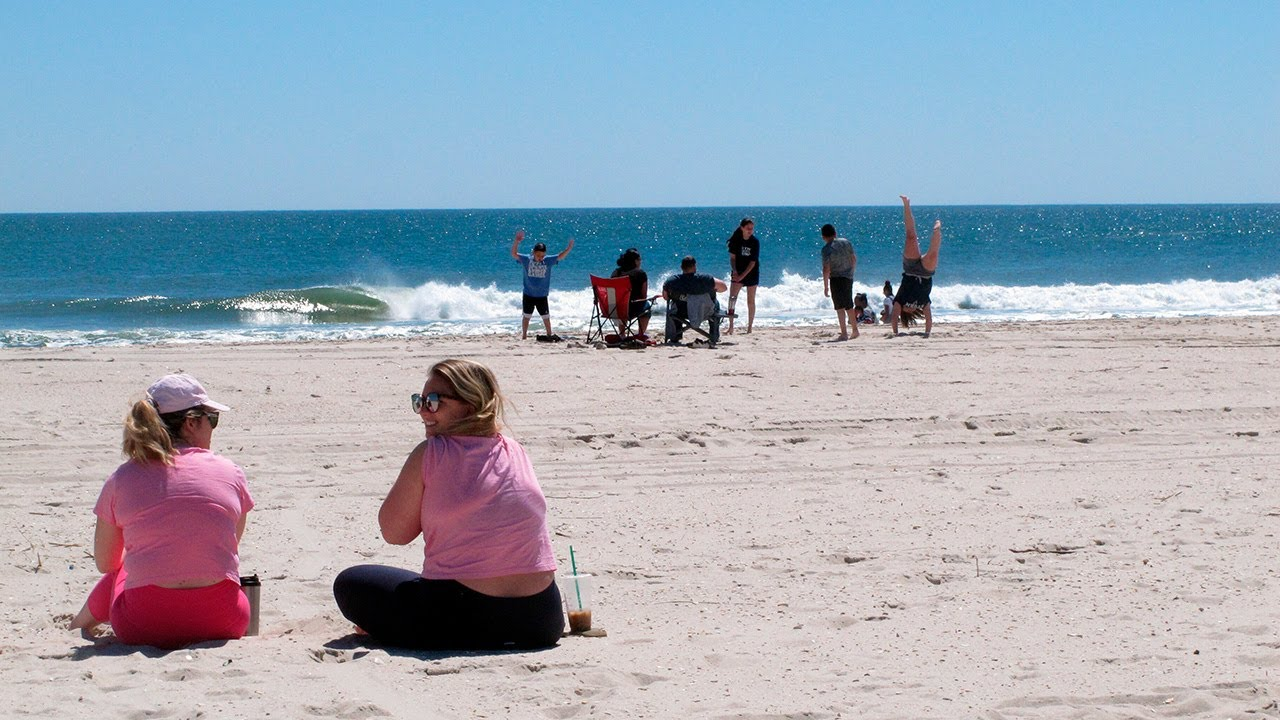 Jersey Shore and many other U.S. beaches reopen for a Memorial ...