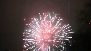 Фейерверк Рязань Новый год Площадь Победы