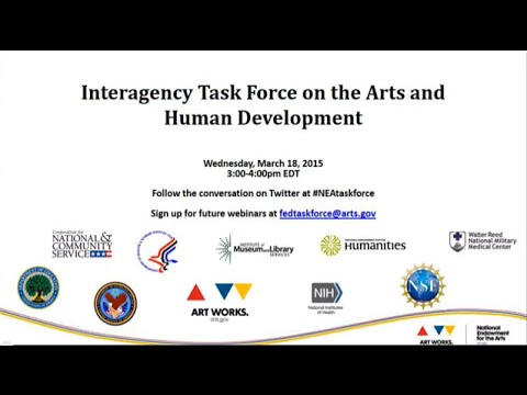 Arts & Human Development Task Force Webinar: Visual Arts, Learning, and Coping