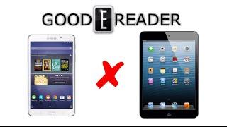 Samsung Galaxy Tab 4 Nook vs iPad Mini with Retina