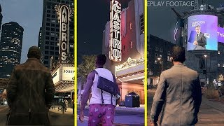 Watch Dogs 1 vs 2 vs Legion Early Graphics and Mechanics Comparison
