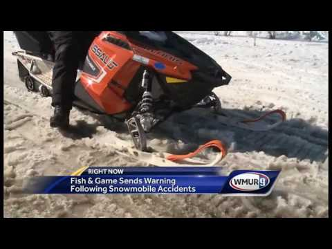 Fish And Game Warning Riders After Serious Snowmobile Accidents