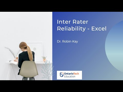 Calculating Inter Rater Reliabilityagreement In Excel Youtube