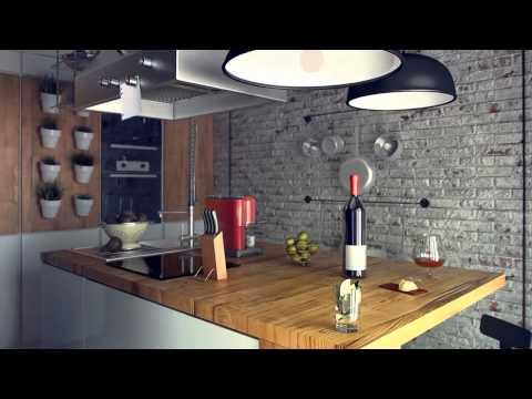 Дизайн квартир Cовременная оригинальность Стиль  лофт