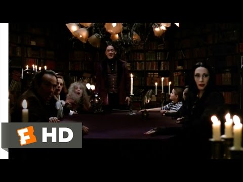 The Addams Family (5/10) Movie CLIP - Calling Fester (1991) HD
