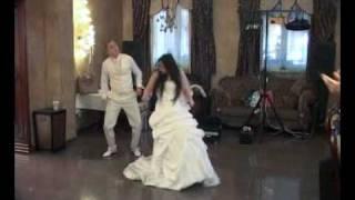 смешной свадебный танец из Украины