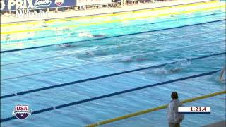 W 200 Back A Final - E17 HF2 14tl032tv - USA Swimming 2014 ARENA Grand Prix at Santa Clara