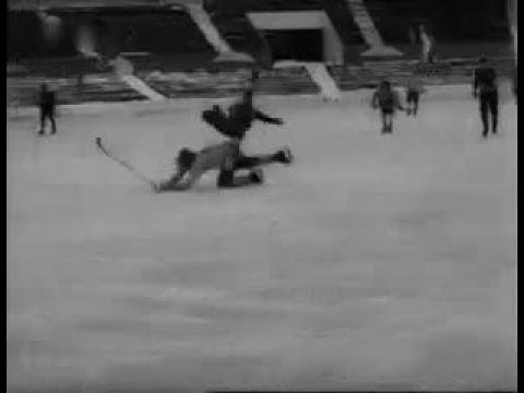 1973.02.24. Хоккей с мячом. Чемпионат мира. СССР - Швеция 1:0