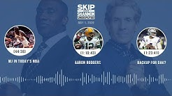 MJ in Today's NBA, Aaron Rodgers, Backup for Dak? (5.1.20)   UNDISPUTED Audio Podcast