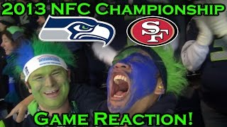 Reacting to the 2013 NFC Championship-Seahawks vs 49ers