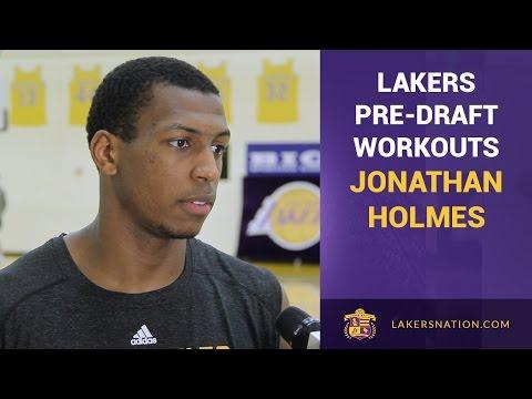 Lakers Pre-Draft Workouts: Jonathan Holmes