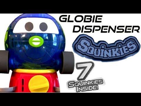 Cars 2 Squinkies Globie Dispenser Mini Globe Gumball Machine Disney Figures review Pixar