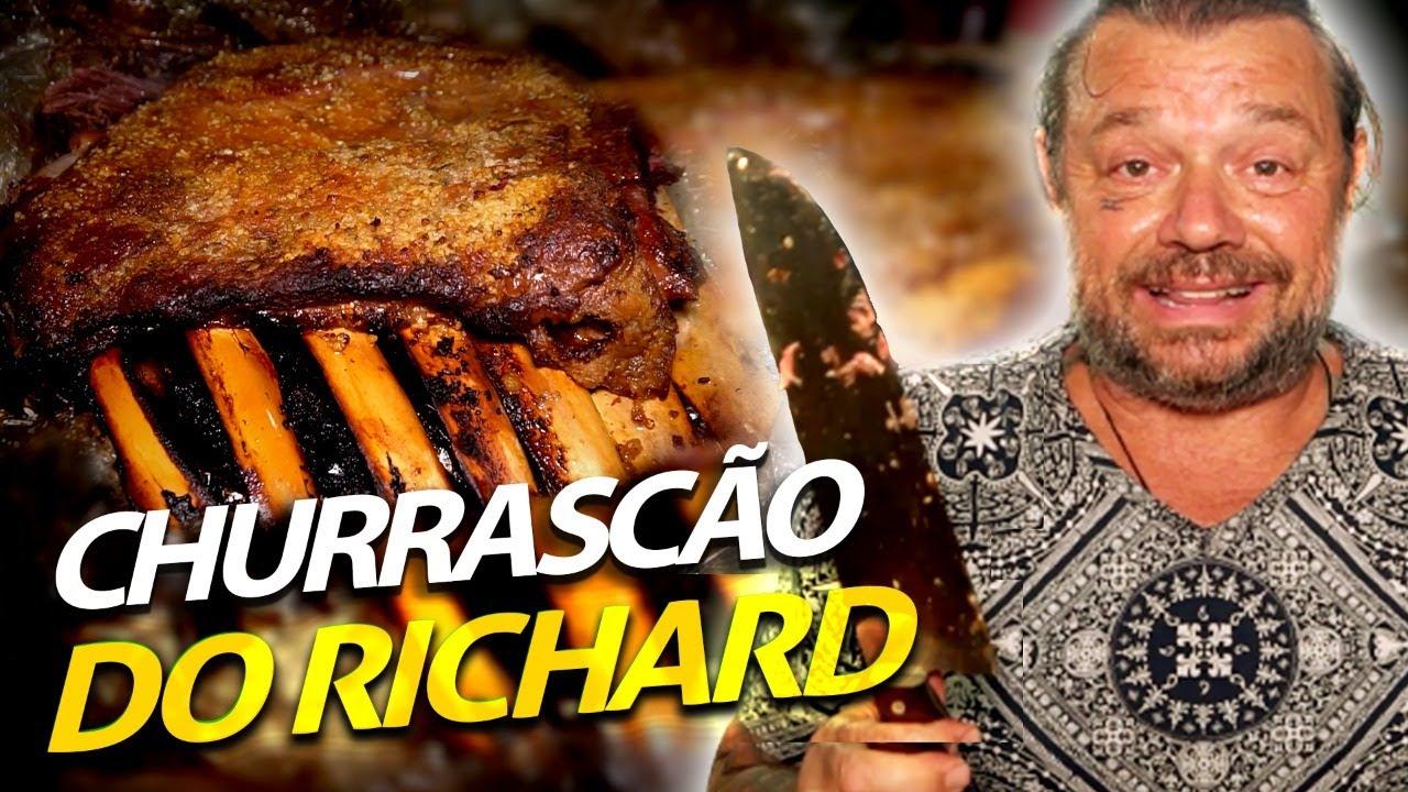 COSTELÃO DO RICHARD NO BAFO!   A CASA DOS BICHOS