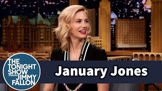 January Jones Is a Throwback Thursday Pro