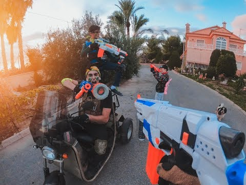 Nerf War: Battle of Brothers
