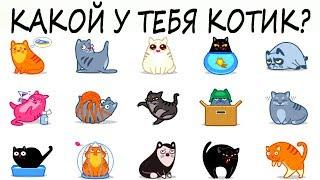 Тест! Выберите породу кошки и узнайте, какой у вас характер! Тесты онлайн!