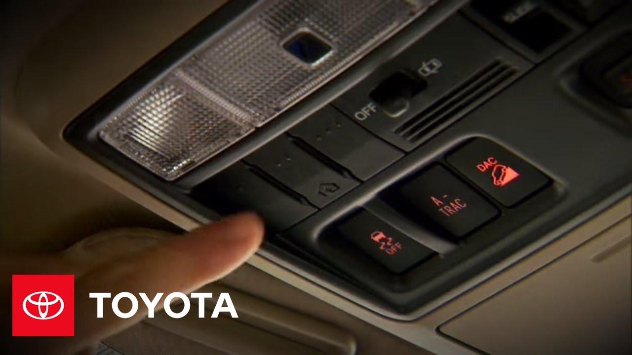 2010 4Runner How-To: Homelink | Toyota