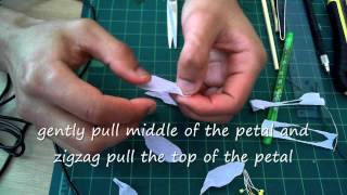 How To Make Paper Flower Amaryllis