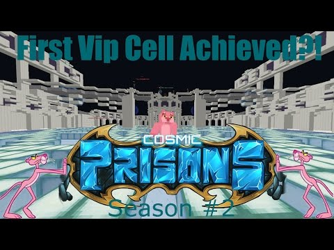 """Cosmic Prison ROAD TO LEVEL 100! """"First VIP Cell Achieved?!"""" (Season 2 Episode #10)"""