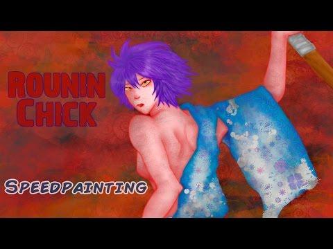 Speedpainting: Rounin Chick