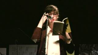Emily Keeler reading from Alisha Piercy