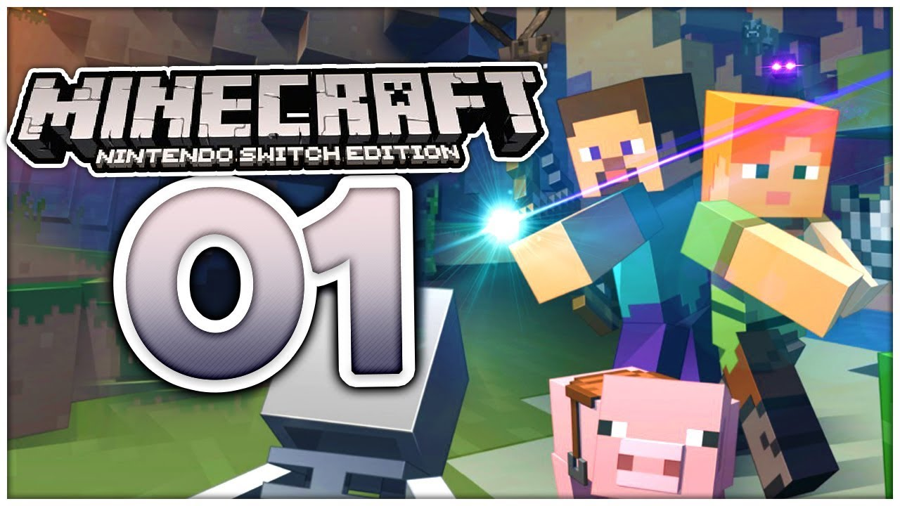 Minecraft Kartentisch Rezept.Minecraft Switch Edition Part 1 Craften Für Zuhause Unterwegs