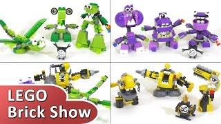Миксели 6 серия, лего фигурки все наборы сезона Lego Mixels Series 6(Обзор Лего Микселей 6 серии, все племена и фигурки в одном видео на русском языке! Приятного просмотра! Подпи..., 2015-11-10T17:11:24.000Z)