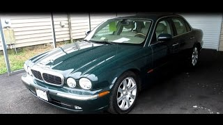 2004 Jaguar XJ8 Walkaround, Start up, Tour and Overview