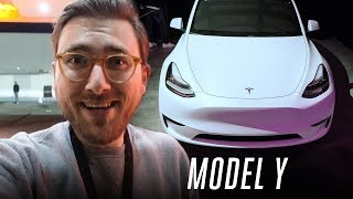 Tesla Model Y first ride: 75% the model 3