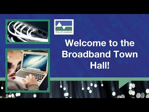 Oct. 4 Broadband Town Hall