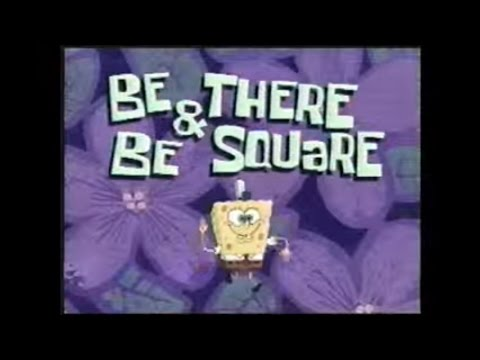 Old Spongebob Teaser Trailer-Be There And Be Square (Rare)