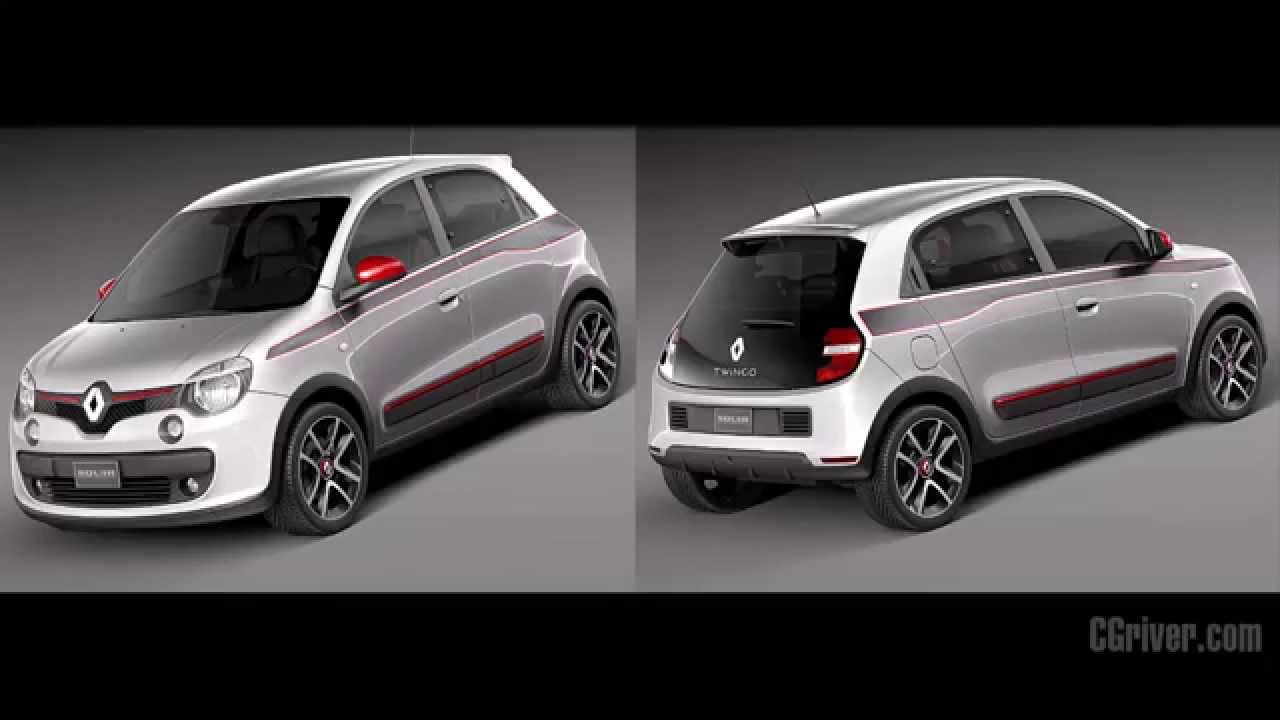 3d model renault twingo 2015 youtube. Black Bedroom Furniture Sets. Home Design Ideas