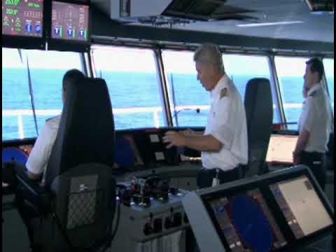 Oasis Of The Seas Day 11 Bridge Tour Cruiseguy Com Youtube